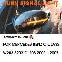 Световой индикатор с динамическим зеркалом для mercedes benz