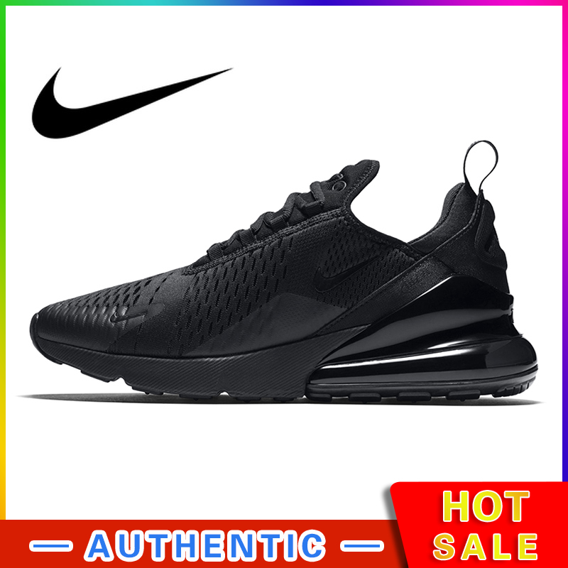 Nike Air Max 270 Men's Running Shoes Sneakers Outdoor Sport Breathable Lace-up Jogging Walking Designer Athletic Original AH8050