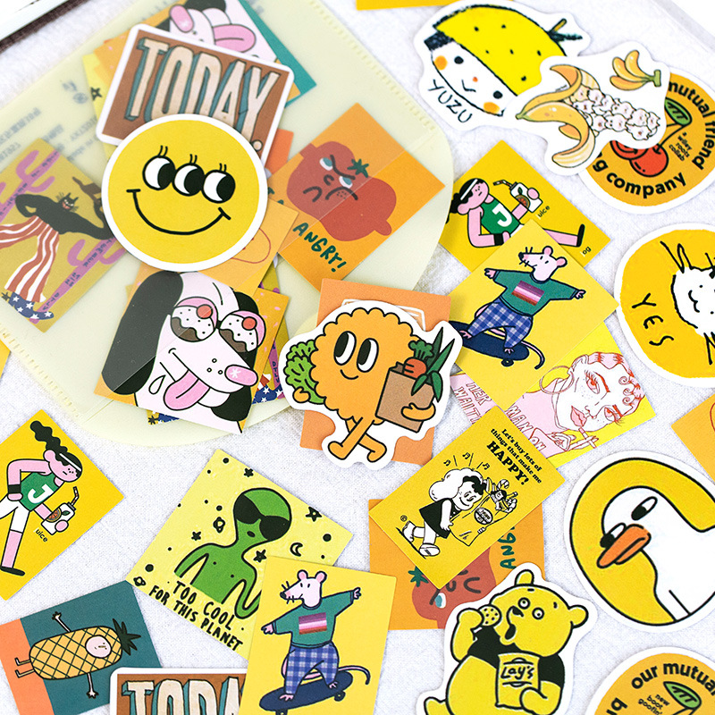 60pcs/1lot Stationery Stickers Wonderful Holiday Diary Planner Decorative Mobile Stickers Scrapbooking DIY Craft Stickers