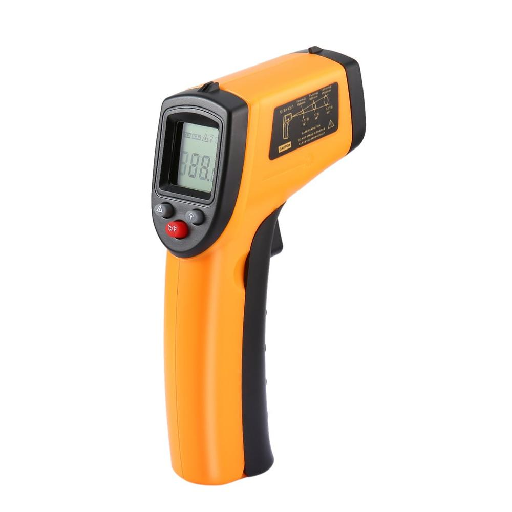 Digital Temperature 2019 High Quality Portable Non-Contact LCD IR Laser Infrared Thermometer Gun Handheld Thermometer