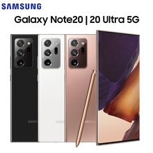 Original novo samsung galaxy note 20 | nota 20 ultra 5g snapdragon 865 + 6.7/6.9