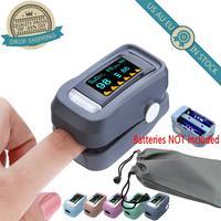 Led dedo medidor de oxigênio de pulso no sangue saturação oxímetro de sangue ferramenta casa medidor de pressão arterial monitores saúde do agregado familiar|Peças de ferramentas| |  -