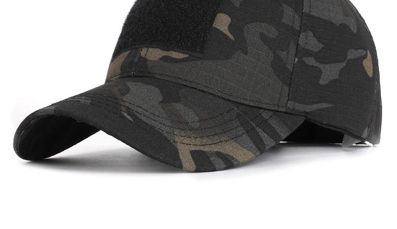 17 Colors Camo Men's gorras Baseball Cap Male Bone Masculino Dad Hat Trucker New Tactical Men's Cap Camouflage Snapback Hat 2020 32