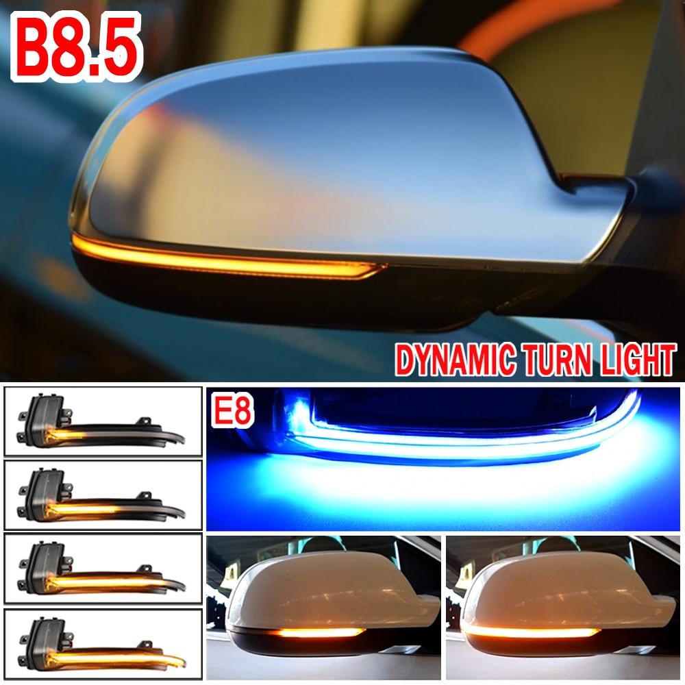 Динамический мигалка зеркальный светильник для Audi A3 8P A4 A5 B8 Q3 A6 C6 4F S6 светодиодный поворотник боковой индикатор SQ3 A8 D3 8K S4 S5