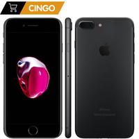 Apple iPhone 7 Plus 3 ГБ ОЗУ 32/128 ГБ/256 ГБ IOS сотовый телефон LTE 12.0MP камера Apple четырехъядерный отпечаток пальца 12MP 2910mA