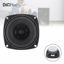 4 Inch DIY Portable Tweeter Full Frequency Speaker Rubber Midrange Woofer Low Unit for Outdoors / Motorcycle