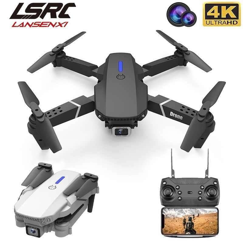 Lsrc 2020 Nieuwe Quadcopter Drone E525 Hd 4K 1080P Camera En Wifi Fpv Hoogte Behoud Rc Opvouwbare Quadcopter dron Gift Speelgoed