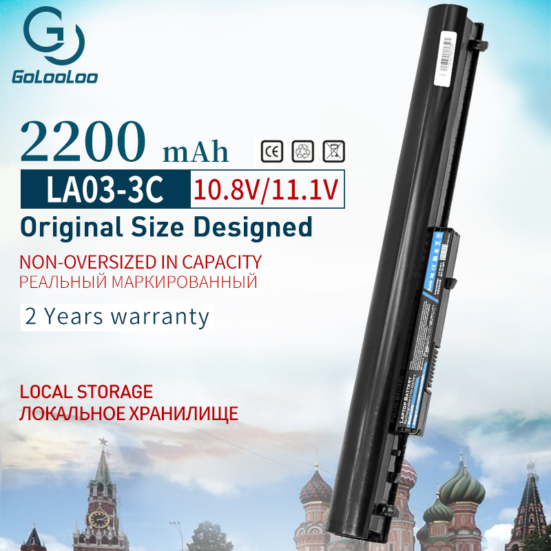 Golooloo LA03 Laptop Battery For HP 15-F004DX 15-F205DX 15-F010Dx 15-F210CA LA03DF LA03031DF HSTNN-DB6N HSTNN-IB6R 776622-001