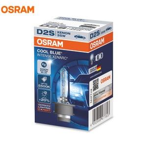 Image 2 - OSRAM 66140CBI 66240CBI 66340CBI 66440CBI D1S D2S D3S D4S 12V 35W מגניב כחול אינטנסיבי 5500K HID הנורה קסנון רכב פנס, 1X