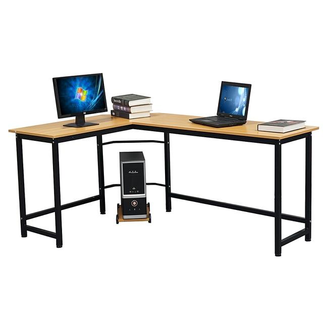 Business Office Furniture Laptop Desk L-Shaped Desktop Desk