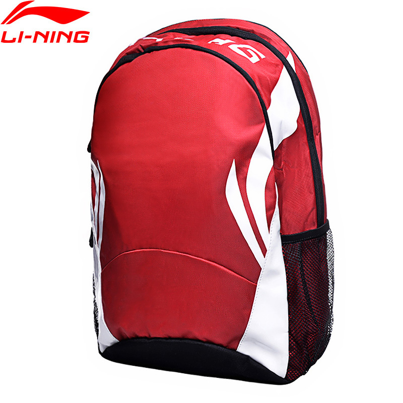 Li-Ning Unisex Urban Sport Backpack Men & Women Training Bags Polyester Streetwear Li Ning LiNing Sports Backpack ABSG002 BBF241