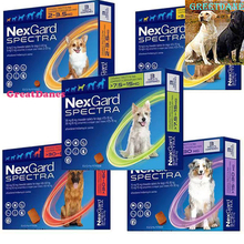 Nexgard Spectra Chewable For Dogs All Size Merial Fast Delivery