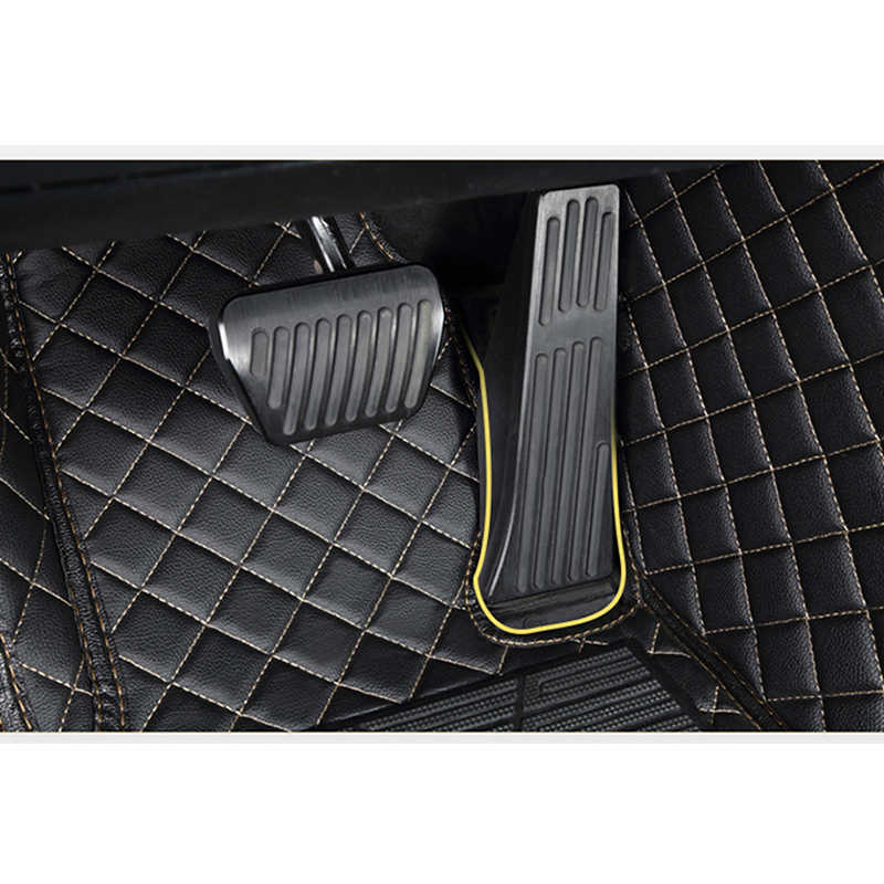Kokololee xe hơi Tùy Chỉnh Thảm lót sàn dành cho Xe Audi tất cả mẫu A1 A3 A8 A7 Q3 Q5 Q7 A4 A5 A6 S3 s5 S6 S7 S8 R8 TT SQ5 SR4-7 kiểu dáng xe