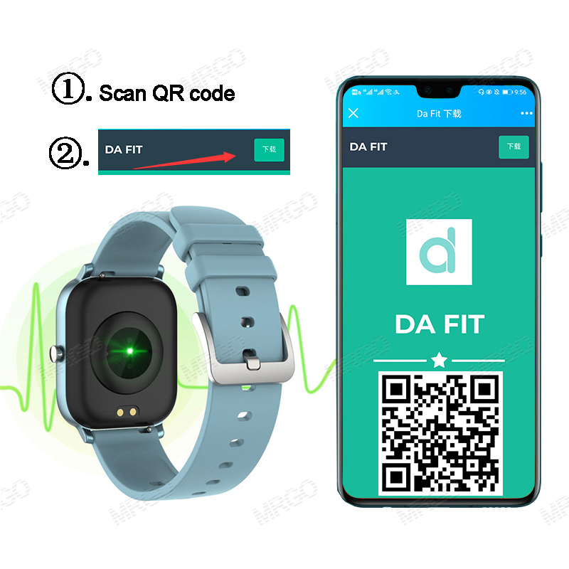2020 Smart Watch Men Women Heart Rate Blood Pressure Monitor Bluetooth Connect Smartwatch Fitness for Android Watch Smart 3