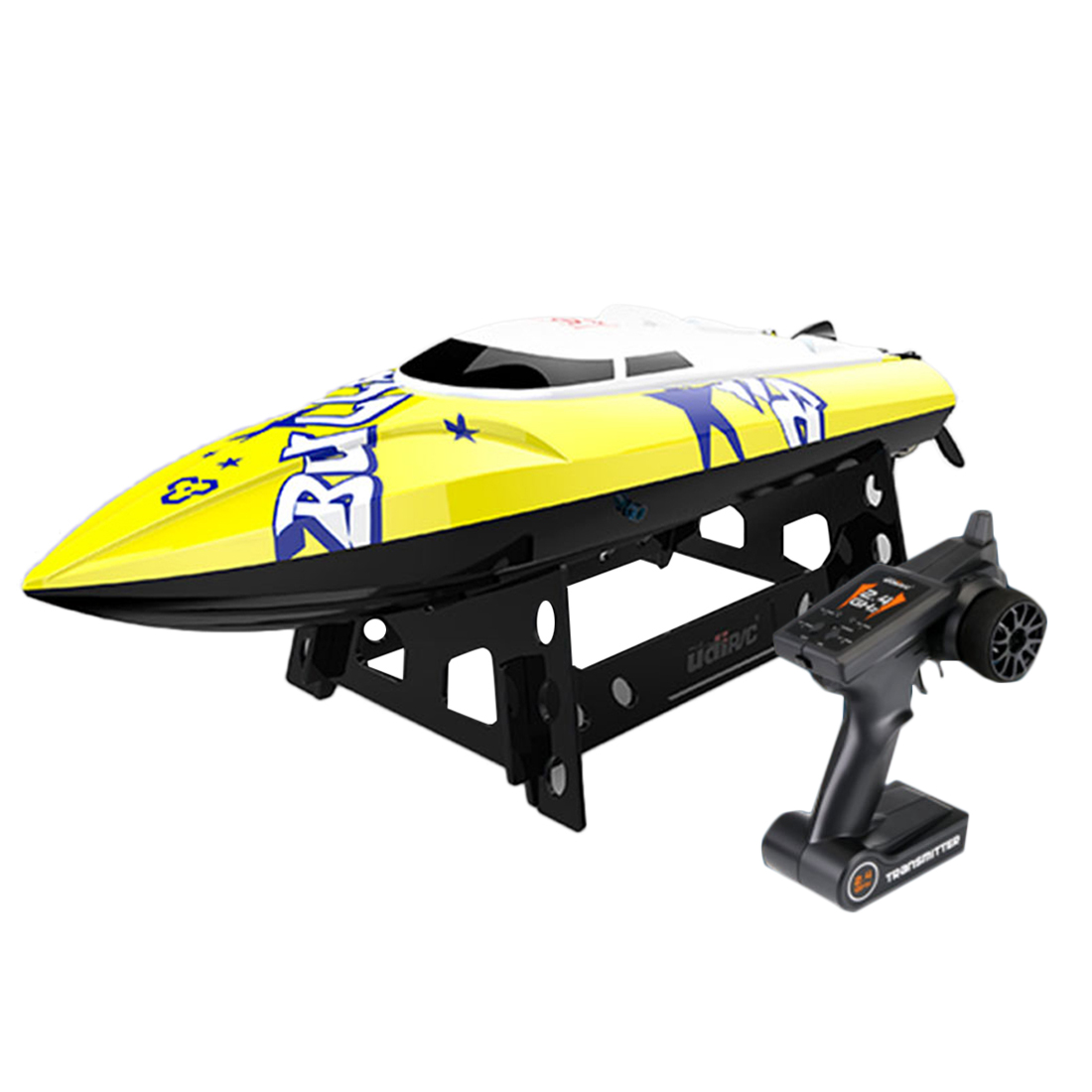 2.4G RC Boat Remote Control Yacht Electric Ship Waterproof Boy Model Toy