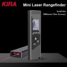 Кира 40 м интеллектуальный цифровой лазерный дальномер Портативный USB зарядки дальномер Мини Ручной дальномер Meter
