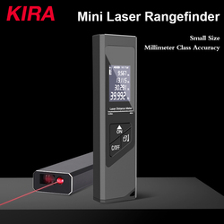 KIRA 40M Smart Digital Laser Distance Meter Range Portable USB Charging Rangefinder Mini Handheld Distance Measuring Meter