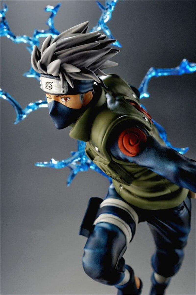 Naruto Kakashi Sasuke Action Figure Anime17CM Cool Figure PVC Toys Figurine Model Doll Decoration Accessories