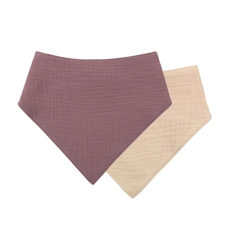 1 Pc Baby Bibs Cotton Accessories Newborn Solid Color Snap Button Soft Triangle Towel Feeding Drool Bibs - S002