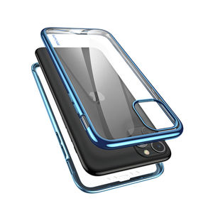 """Image 3 - SUPCASE For iPhone 11 Pro Case 5.8"""" (2019) UB Electro Metallic Electroplated+TPU Full Body Cover with Built in Screen Protector"""