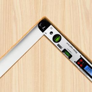 Image 5 - 0 225 תואר דיגיטלי זווית רמת מטר מד 400mm 16 אינץ אלקטרוני מד זווית משלוח חינם