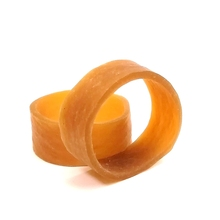 3x1cm High elasticity Strip rolling Bandage rubber band stretching silica gel binding latex Office storage Supplies elastic