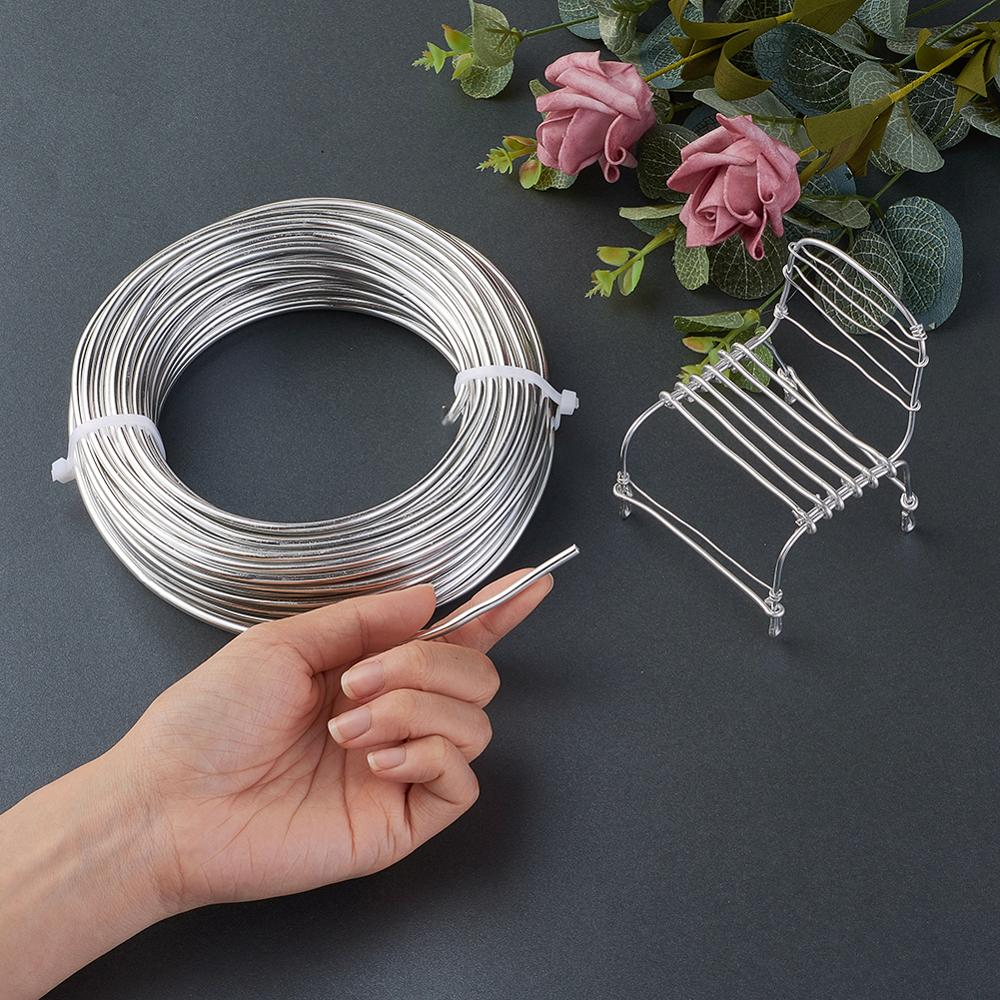 Image 5 - 1Roll Aluminum Wire Jewelry Findings for Jewelry Making DIY Silver Black 0.8mm 1mm 1.5mm 2mm-in Jewelry Findings & Components from Jewelry & Accessories