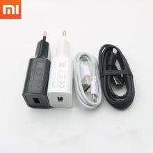 Xiaomi, carregador original, 10 w 5v2a, adaptador de alimentação rápida, cabo micro usb para redmi note 2 3 4 5 plus pro 4x 5a 4a 3 redmi 7 7a