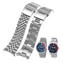 Uhr Band Für SEIKO SKX009 007 175 173 Massiv Edelstahl Armband 20 22 24mm Uhr Zubehör Uhr gürtel Uhr Armband