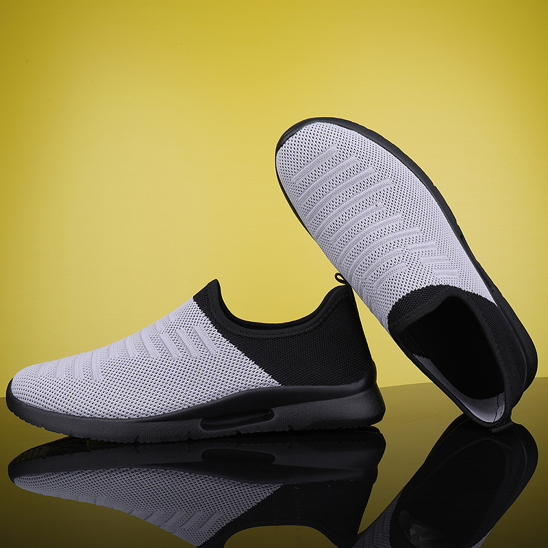 2020 Mens Casual Shoes Men Slip-on Sock Sneakers Breathable Light Leisue Walking Jogging Running Tenis Masculino Adulto 3