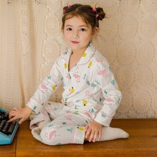 Girls Cotton Pajamas Set Children Sleepwear Pyjamas 2020 Tod