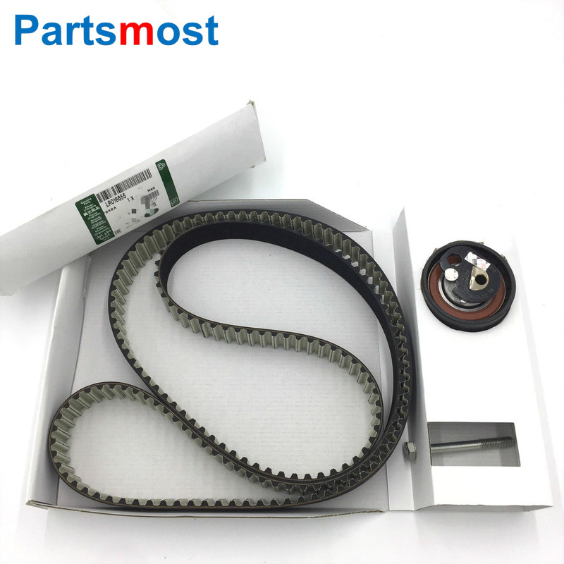 FRONT TIMING BELT KIT FOR LAND ROVER RR SPORT DISCOVERY 3 4 JAGUAR XF XJ 2.7 3.0 V6 DIESEL TIMING BELT PULLEY C2C41082 LR016655