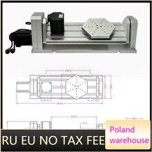 Axe rotatif daxe de CNC 4th 5th pour le routeur de CNC un Type de plat daxe avec la Machine de gravure de Miling de CNC de travail du bois de moteur pas à pas de Nema23