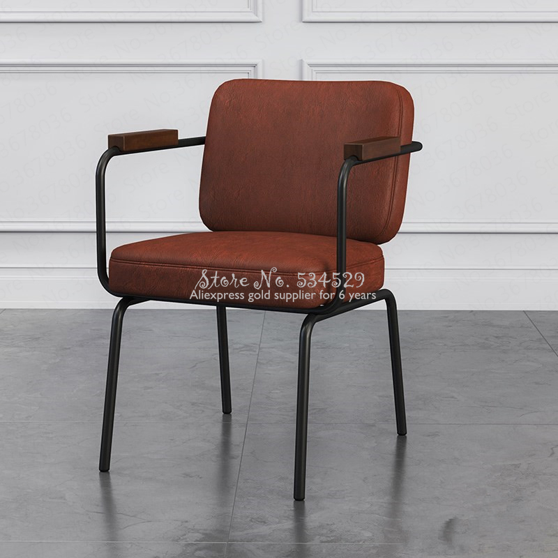 10%American Industrial Wind Chair Loft Office Chair Simple Modern Dining Computer Chair To Discuss Chair Conference Roomchair