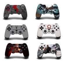 God of War pegatina protectora para PS4, controlador de piel para Playstation 4 Pro, pegatina delgada, accesorios para PS4