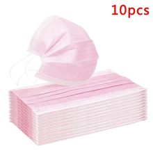 200pc máscara protetora à prova proteger rosto boca capa ao ar livre você está muito perto da boca filtro máscaras descartáveis máscara protetora rosa mascarillas
