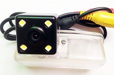 Toyota 12/13-New Crown Special Car For Special Use With LED Light CCD High-definition Night Vision Reversing Surveillance Camera
