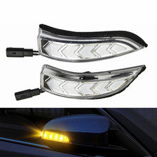 2PCS Rearview Mirror Indicator Lamp Dynamic LED Turn Signal Light For Toyota Camry Corolla Prius C Venza Avalon Vios Yari Altis car rearview mirror turn signal lights led lamp for toyota wish prius mark x crown auto exterior warning lights turning signal