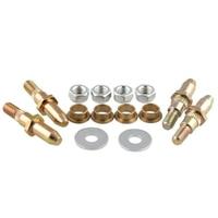 Flat washers Car Door Bushings Hinge Assembly Kit Set Locking nuts 19299324 38453P 8902553