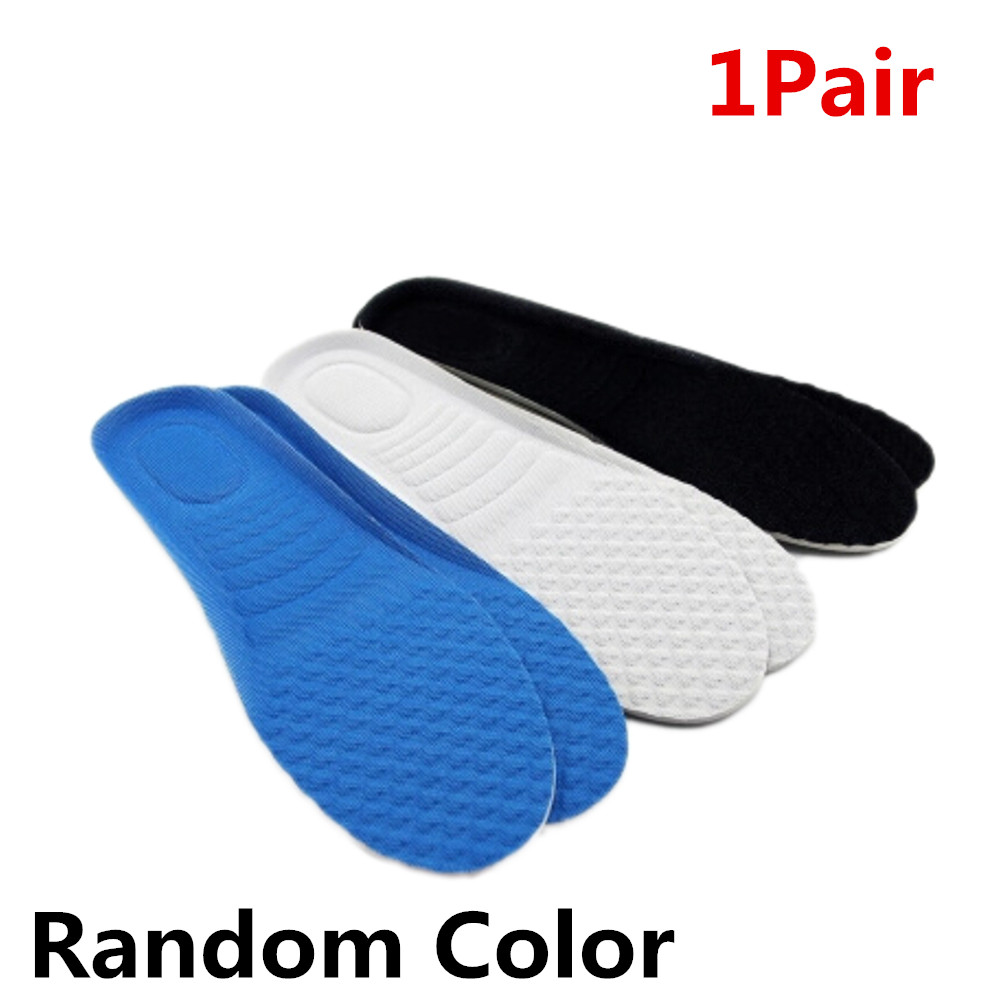1Pair Heel Lift Taller Sport Running Shoe Inserts Insoles Pads Cushions  Insoles Random Color  Height Increase