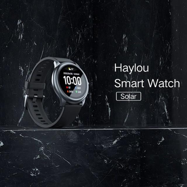 Haylou montre intelligente solaire LS05 Sport 6