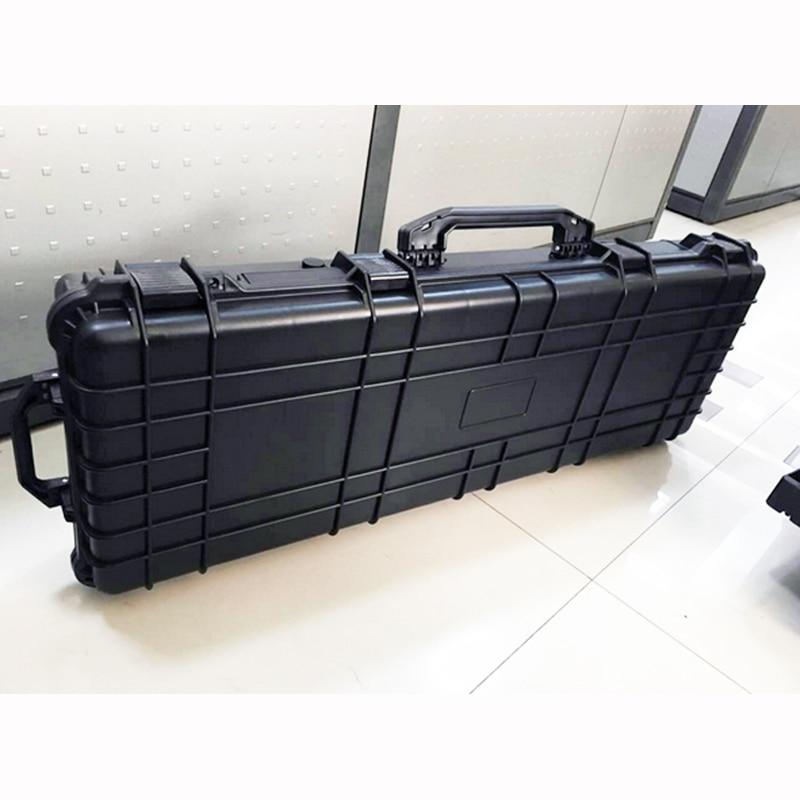 lang Gereedschapskoffer pistoolkoffer grote gereedschapskist Slagvast - Gereedschap opslag - Foto 3