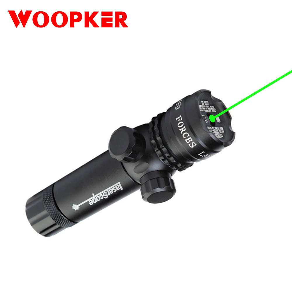 Powerful Green Laser Optical Sight Scope With Rail Mount For 20mm Pistol And Rifle Airsoft Gun Riflescope Hunting Tools