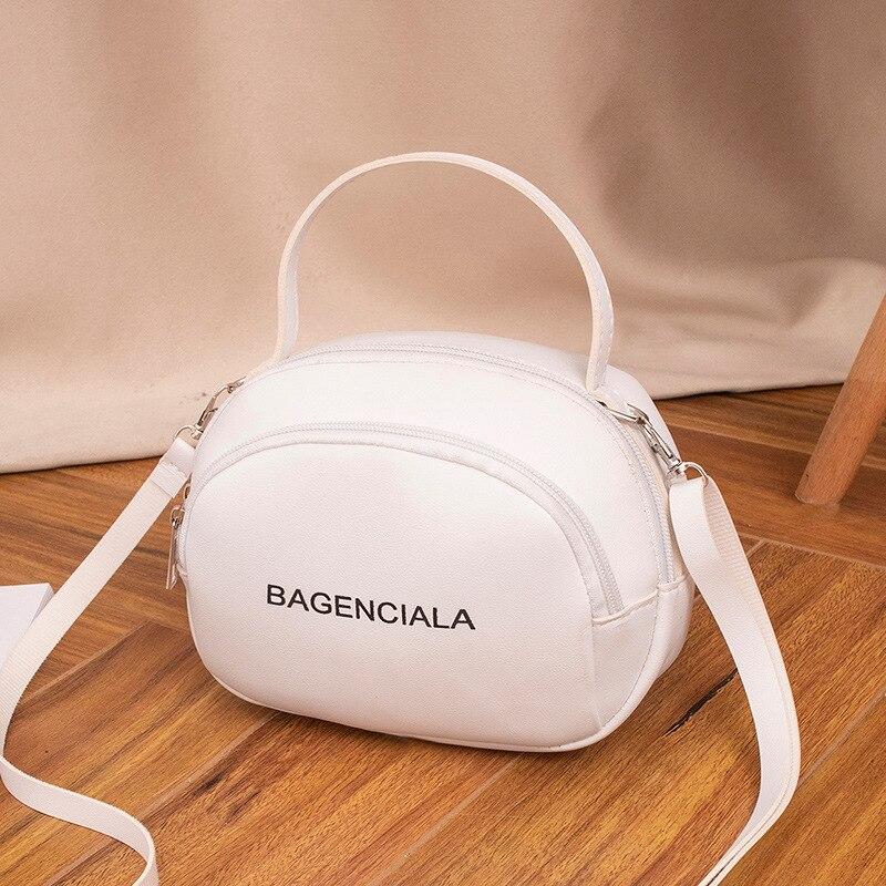2020 Spring Summer Women's Casual Messenger Bag Fashion Simple Shoulder Bag Fashion Korean Style Solid Color Square Sling Bag