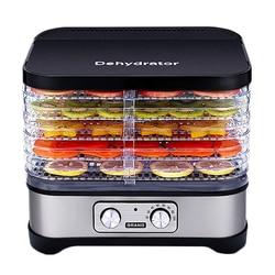 Food Dehydrator for Home Dehydrators Food Processor Food Dryer 5 Layer Kitchen Bake Vegetable Fruit Oven Pet Food Jerky