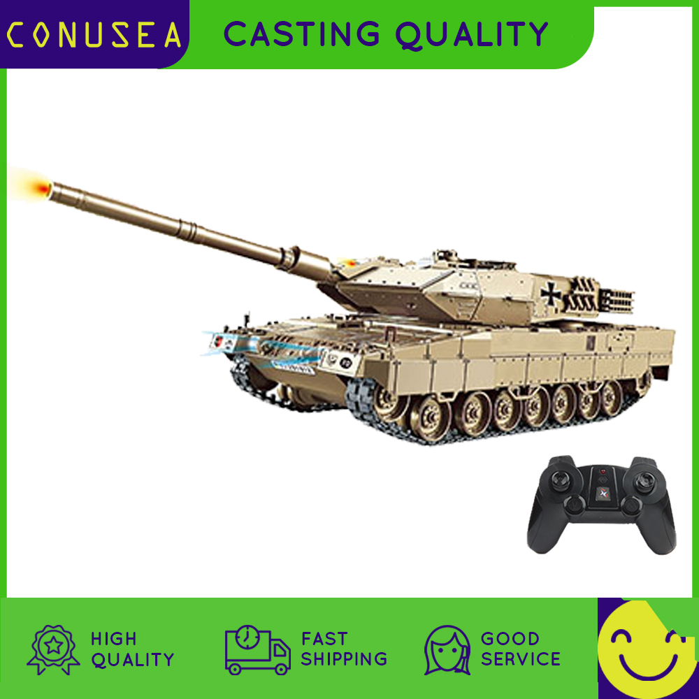 1/30 RC Tank Battle Military World War 360° rotate turret Large Remote Control Toy Car Shoot Model Electronic Boy Toys Child kid
