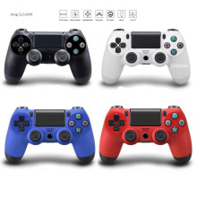 Mando inalámbrico Outmix Bluetooth Joystick de doble impacto Gamepads inalámbricos para consola ps4 para Playstation Dualshock 4 Gamepad(China)