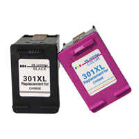 Remanufacturado HP 301XL 301 XL Cartuchos de tinta Negro Tricolor para HP Deskjet serie 1000 de 1010 de 1050 1050A 1510 2050 2050A 2540