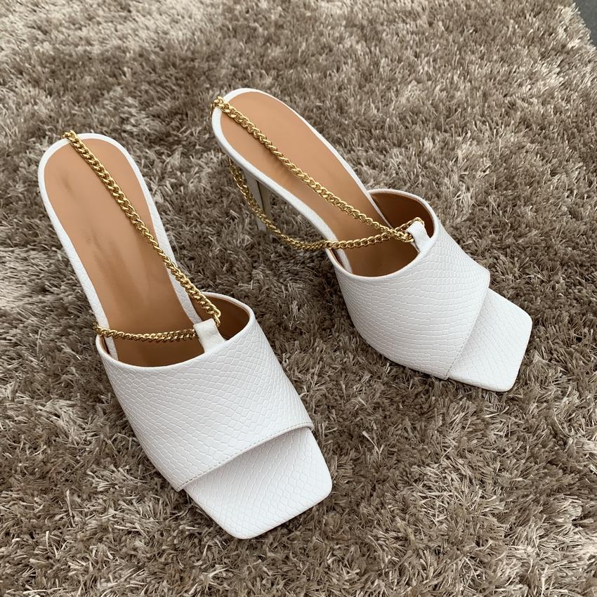 2020 Women New Summer High Heels Sandals Woman High Heel Shoes Womens Open Toe Pumps Leather Pump Shoe Ladies Chaussure