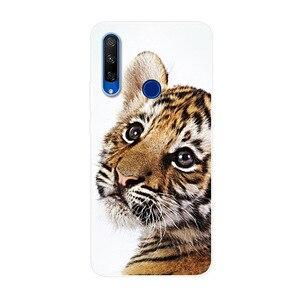 """6.15 """"für Huawei Ehre 20 Lite Fall Telefon Abdeckung Weichen Silikon Zurück Fall für Honor 20 Lite MAR-LX1H Stoßfest abdeckung Russischen 2020"""